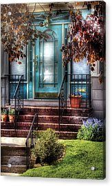 Spring - Door - Apartment Acrylic Print by Mike Savad
