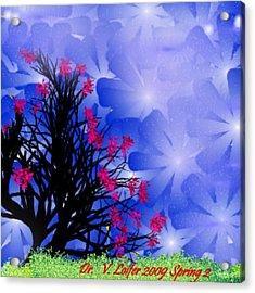 Spring 2 Acrylic Print by Dr Loifer Vladimir