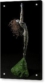 Spring A Sculpture By Adam Long Acrylic Print by Adam Long