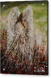 Spring Angel Acrylic Print