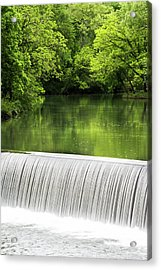Acrylic Print featuring the photograph Spring At Buck Creek by Parker Cunningham