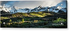 Acrylic Print featuring the photograph Spring At Dallas Divide  by The Forests Edge Photography - Diane Sandoval