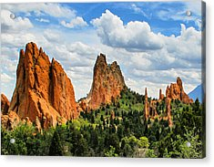 Spring At Garden Of The Gods Acrylic Print