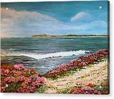 Spring At Half Moon Bay Acrylic Print by Dee Davis