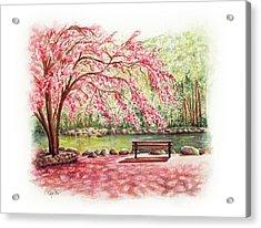 Spring At Lithia Park Acrylic Print