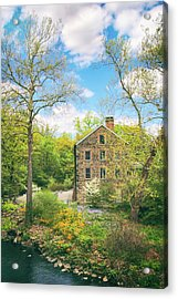 Spring At The Stone Mill  Acrylic Print by Jessica Jenney