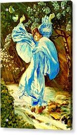 Acrylic Print featuring the painting Spring - Awakening by Henryk Gorecki