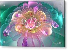 Spring Bloom Acrylic Print by Peggi Wolfe