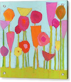 Spring Blooms Acrylic Print by Laurie Breen