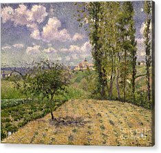 Spring Acrylic Print by Camille Pissarro