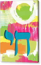 Spring Chai Acrylic Print by Linda Woods