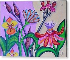 Spring Acrylic Print by Claudia Tuli