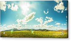 Spring Country Acrylic Print