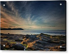Spring Evening At Madrona Acrylic Print by Randy Hall