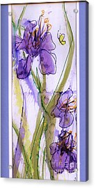 Acrylic Print featuring the painting Spring Fling by P J Lewis