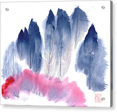 Spring Forest Acrylic Print by Mui-Joo Wee