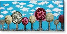 Spring Grove Acrylic Print by Graciela Bello