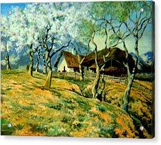 Spring In Poland Acrylic Print