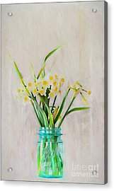 Acrylic Print featuring the photograph Spring In The Country by Benanne Stiens