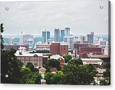 Acrylic Print featuring the photograph Spring In The Magic City - Birmingham by Shelby Young