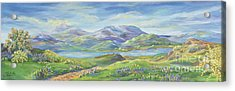 Spring In The Okanagan Valley Acrylic Print by Malanda Warner
