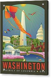 Spring In Washington D.c. Acrylic Print