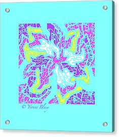 Spring Is Pastelling Acrylic Print