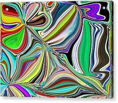 Spring Kaleidoscope Acrylic Print