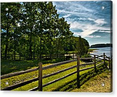 Spring Landscape In Nh 2 Acrylic Print by Edward Myers