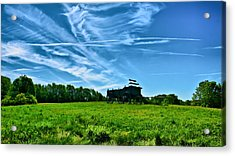 Spring Landscape In Nh 4 Acrylic Print by Edward Myers
