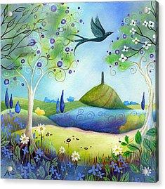 Spring Light Acrylic Print by Amanda Clark