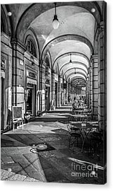 Spring Light In Porticos Acrylic Print by Italy Art and Soul