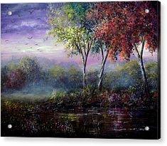Spring Magic Acrylic Print by Ann Marie Bone