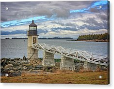 Acrylic Print featuring the photograph Spring Morning At Marshall Point by Rick Berk