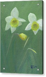 Spring Morning Acrylic Print by Laurel Ellis
