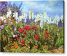 Acrylic Print featuring the photograph Spring by Munir Alawi