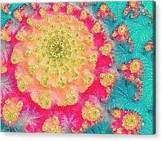 Spring On Parade 2 Acrylic Print by Bonnie Bruno