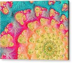 Spring On Parade Acrylic Print by Bonnie Bruno