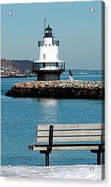 Spring Point Ledge Lighthouse Acrylic Print