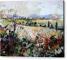 Spring Rain Acrylic Print by Dale  Witherow