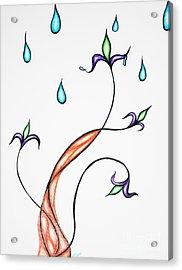Spring Rain Acrylic Print
