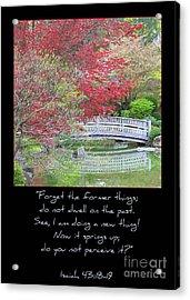 Spring Revival Acrylic Print by Carol Groenen