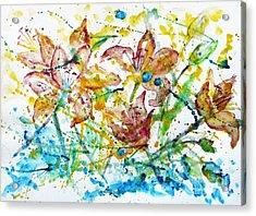 Spring Rhapsody Acrylic Print by Jasna Dragun