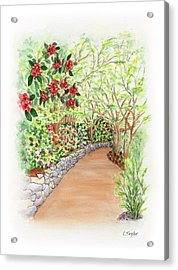 Spring Rhodies Acrylic Print