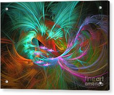 Spring Riot - Abstract Art Acrylic Print
