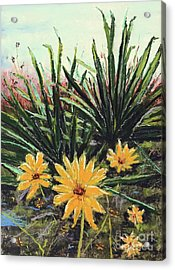 Spring Rising Acrylic Print by Vickie Scarlett-Fisher