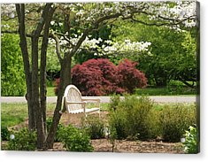 Spring Seating Acrylic Print