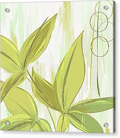 Spring Shades - Muted Green Art Acrylic Print