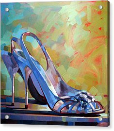 Spring Shoes Acrylic Print by Penelope Moore