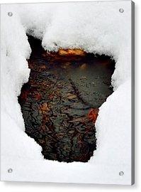 Spring Snow II Acrylic Print